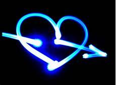 Neon Heartbeat Wallpaper