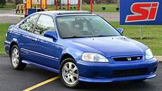 Honda Civic 2000 - 2000 honda civic si driving and walkaround
