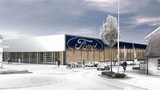 Zwei Neubauten Weichenstellungen Bei Ford Hagemeier