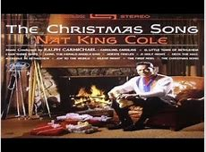Merry Christmas To You Nat King Cole-