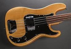 fender fretless precision bass fretless precision bass 78 dave s guitar shop