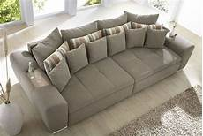 günstig sofa kaufen big sofa bigsofa garnitur hellbraun braun grau neu