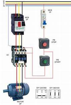 forward three phase motor wiring diagram electrical info pics non stop engineering in