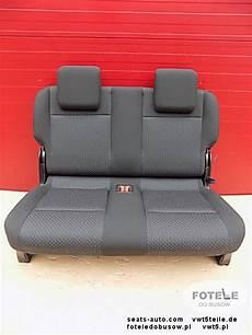 vw caddy sitz dritte sitzreihe 2er sitzbank neu ebay