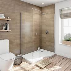 6mm Curved Rh Walk In Shower Enclosure With Tray 1400x900