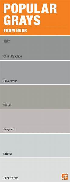 don t be overwhelmed by paint color choices here are some of the most popular shades of gray