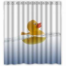 yellow duck shower curtain yellow rubber ducky custom shower curtain pattern