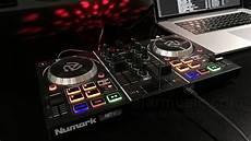 consol da dj numark mix dj console entry level con effetti luce