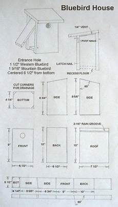 mountain bluebird house plans nest box birdhouse plans bird house plans cardinal