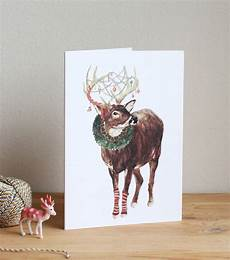 merry christmas my deer christmas card by mister peebles notonthehighstreet com