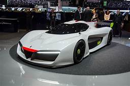 Pininfarina H2 Speed Concept Is A Hydrogen Powered Track