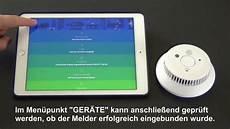 innogy rauchmelder in smarthome zentrale einbinden