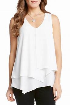 layering blouse sleeveless layered blouse from by marta s