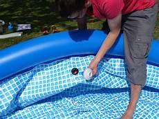 montage d une piscine intex easy set autoport 233 e