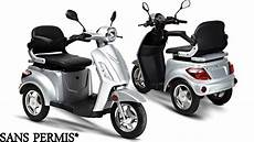 scooter 3 roues permis scooter 3 roues deltascoot mod 232 le shopy 800