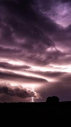 purple clouds lightning over field iphone 6 plus hd wallpaper hd free download iphonewalls