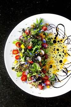 eat flowers be happy edible flower salad taste with