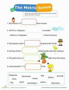 measurement mania 12 metric system worksheet education com