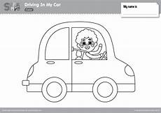 car coloring pages for preschoolers 16492 driving in my car coloring pages simple