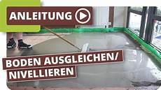 boden ausgleichen fussboden nivellieren untergrund