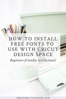 how to install custom fonts to use with your cricut free