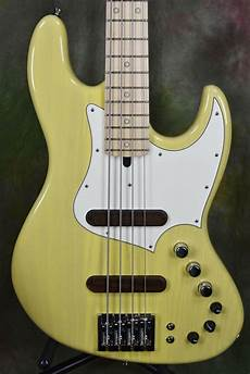 Xotic Xj It Yellow 4 String Jazz Bass Guitar With
