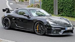 Porsche 718 Cayman GT4 RS Potentially Spied Testing At The