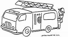 Gambar Animasi Mobil Pemadam Kebakaran Rommy Car
