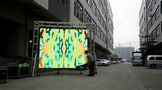 how to install led display panel p16 outdoor led