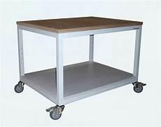 arbeitstische rolltische und tischwagen laborwagen made
