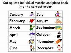 months of the year animated powerpoint presentation worksheets and wall display by online