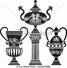 vaso romano antico colonna greco antico vaso antico terzo variante