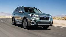 2019 subaru vehicles subaru forester 2019 motor trend suv of the year finalist