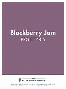 blackberry jam ppg1178 6 from ppg pittsburgh paints purple can be inspirational and create a