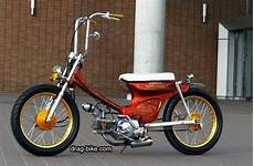 Modifikasi Honda C70 Chopper by Honda C70 Modif Chopper Custom Cub Honda Airbrush Motor