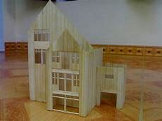 toothpick house plans making house by toothpicks craft ideas house
