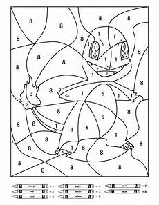 3 free pokemon color by number printable worksheets pokemon coloring pages color by number