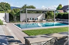 Wohnlicher Garten Mit Pool Parc S Gartengestaltung