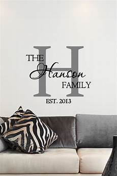 Vinyl Home Decor Ideas by Custom Family Name Monogram Vinyl Decal Monogram Vinyl