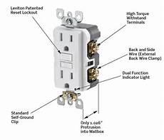 leviton n7599 w 15 125 volt smartlock pro slim non ter resistant duplex gfci receptacle