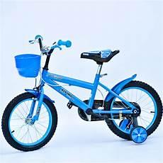kinder fahrrad f 252 r jungen 16 quot zoll blau mit viel zubeh 246 r