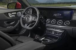 2018 Mercedes Benz E Class Coupe Front Interior Driver