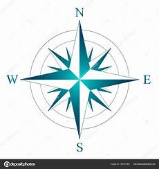 Norden Westen Süden Osten - rosa dei venti con l indicazione nord sud ovest ed