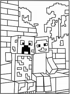 creeper minecraft malvorlagen