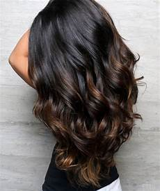 top balayage for hair black and brown hair