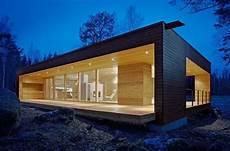 maison contemporaine bois toit plat design scandinave