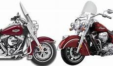 Harley Davidson Indian Motorcycle by Indian Springfield Vs Harley Davidson Road King