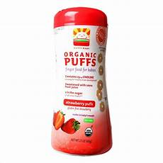 Happy Baby Organic Puff happy baby organic puff finger food strawberry end 5 26