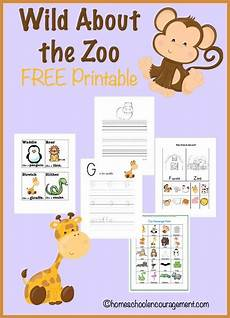 free zoo unit study and printables preschool zoo theme zoo preschool zoo activities