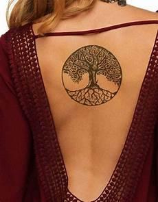 tree of back tatouage tatouage dos